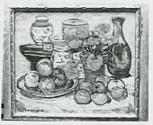 view Still Life with Apples [painting] / (photographed by Peter A. Juley & Son) digital asset number 1