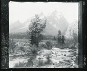 view The Tetons [painting] / (photographed by Peter A. Juley & Son) digital asset number 1