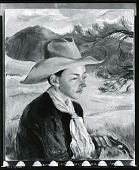 view In Western Garb [painting] / (photographed by Peter A. Juley & Son) digital asset number 1
