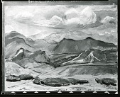 view Rocky Mountain Landscape [painting] / (photographed by Peter A. Juley & Son) digital asset number 1
