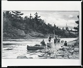 view Fishermen Resting Along a River [painting] / (photographed by Peter A. Juley & Son) digital asset number 1