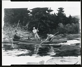 view New Brunswick Salmon, Campbell's Run [painting] / (photographed by Peter A. Juley & Son) digital asset number 1