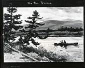 view On the Tobique [painting] / (photographed by Peter A. Juley & Son) digital asset number 1