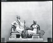 view Schahriah and Scheherazade [sculpture] / (photographed by Peter A. Juley & Son) digital asset number 1