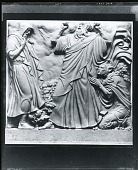 view Shakespearean Panel-King Lear (model) [sculpture] / (photographed by Peter A. Juley & Son) digital asset number 1