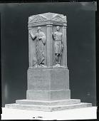 view Beveridge Memorial (model) [sculpture] / (photographed by Peter A. Juley & Son) digital asset number 1