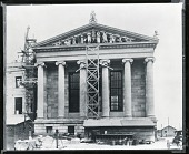 view Composite photograph of Philadelphia Museum of Art with Pediment Model [sculpture] / (photographed by Peter A. Juley & Son) digital asset number 1