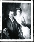 view Irvin Shrewsbury Cobb and Daughter [painting] / (photographed by Peter A. Juley & Son) digital asset number 1