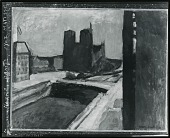 view Notre Dame with Violet Wall [painting] / (photographed by Peter A. Juley & Son) digital asset number 1