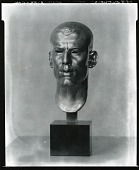 view Portrait of Lincoln Kirstein [sculpture] / (photographed by Peter A. Juley & Son) digital asset number 1