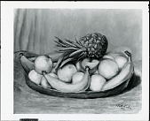 view Fruit Platter [painting] / (photographed by Peter A. Juley & Son) digital asset number 1