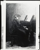 view Elizabeth at the Piano [painting] / (photographed by Peter A. Juley & Son) digital asset number 1