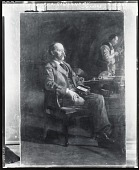 view Professor Henry A. Rowland [painting] / (photographed by Peter A. Juley & Son) digital asset number 1