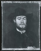 view Portrait of Frank Currier [painting] / (photographed by Peter A. Juley & Son) digital asset number 1