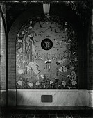 view The Bird Loggia (wall panel with a flock of flamingos) [painting] / (photographed by Peter A. Juley & Son) digital asset number 1