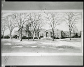 view Phillips Academy, Memorial Gymnasium, Andover, Massachusetts [art work] / (photographed by Peter A. Juley & Son) digital asset number 1