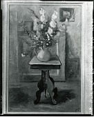 view Still Life-Flowers on Table [art work] / (photographed by Peter A. Juley & Son) digital asset number 1