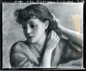view Rochelle Combing Her Hair [art work] / (photographed by Peter A. Juley & Son) digital asset number 1