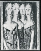 view Four Sisters [painting] / (photographed by Peter A. Juley & Son) digital asset number 1