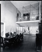 view Paul Manship's Dining Room, New York City [photograph] / (photographed by Peter A. Juley & Son) digital asset number 1