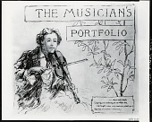 view The Musician's Portfolio [graphic arts] / (photographed by Peter A. Juley & Son) digital asset number 1
