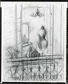 view Sketch for Dressmakers Form [graphic arts] / (photographed by Peter A. Juley & Son) digital asset number 1