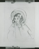 view Sara Wearing Her Bonnet and Coat [graphic arts] / (photographed by Peter A. Juley & Son) digital asset number 1