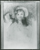view Sara in Bonnet with Plum Hanging Down [painting] / (photographed by Peter A. Juley & Son) digital asset number 1