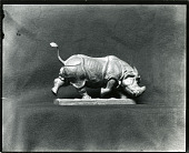 view Charging Rhino [sculpture] / (photographed by Peter A. Juley & Son) digital asset number 1