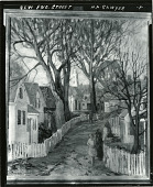 view New England Street [painting] / (photographed by Peter A. Juley & Son) digital asset number 1