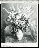 view Bouquet with Poppies [painting] / (photographed by Peter A. Juley & Son) digital asset number 1