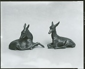 view Deer Sculpture [sculpture] / (photographed by Peter A. Juley & Son) digital asset number 1