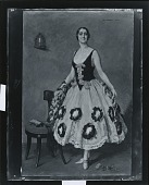 view Mrs. John W. Garrett in Spanish Costume [painting] / (photographed by Peter A. Juley & Son) digital asset number 1