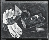view Gardener's Gloves and Implements [painting] / (photographed by Peter A. Juley & Son) digital asset number 1