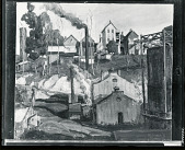 view Town Scene [painting] / (photographed by Peter A. Juley & Son) digital asset number 1