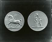 view Model for National Sculpture Society Medal [sculpture] / (photographed by Peter A. Juley & Son) digital asset number 1