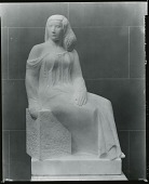 view Polyhymnia (Classical Woman) [sculpture] / (photographed by Peter A. Juley & Son) digital asset number 1