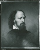 view Alfred Tennyson (1809-1892), 1st Baron Tennyson [painting] / (photographed by Peter A. Juley & Son) digital asset number 1