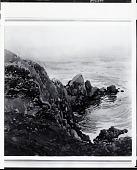 view Sawtooth Rock, Grand Manan Island [painting] / (photographed by Peter A. Juley & Son) digital asset number 1