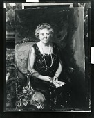 view Mrs. F. B. Cameron [painting] / (photographed by Peter A. Juley & Son) digital asset number 1