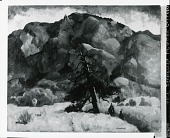 view Cheyenne Mountain, Colorado [painting] / (photographed by Peter A. Juley & Son) digital asset number 1