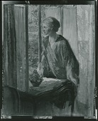 view At the Window [painting] / (photographed by Peter A. Juley & Son) digital asset number 1