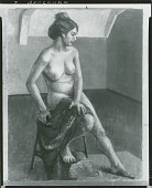 view No Title Given: Nude Woman [painting] / (photographed by Peter A. Juley & Son) digital asset number 1