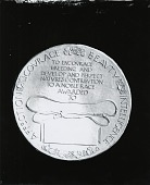 view Medal for Irish Setter Club of America (reverse) [sculpture] / (photographed by Peter A. Juley & Son) digital asset number 1