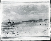 view Beach and Sailboats [painting] / (photographed by Peter A. Juley & Son) digital asset number 1