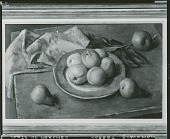view Plate of Peaches [painting] / (photographed by Peter A. Juley & Son) digital asset number 1