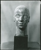 view (Head) [sculpture] / (photographed by Peter A. Juley & Son) digital asset number 1