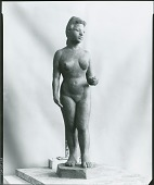 view (Nude Female Figure) [sculpture] / (photographed by Peter A. Juley & Son) digital asset number 1