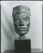 view (Portrait Head) [sculpture] / (photographed by Peter A. Juley & Son) digital asset number 1