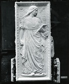 view Study for Doors of American Academy of Arts and Letters, South Gallery (detail) [sculpture] / (photographed by Peter A. Juley & Son) digital asset number 1